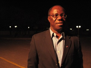 Dr. John Idoko is director general of Nigeria's National Agency for the Control of AIDS.